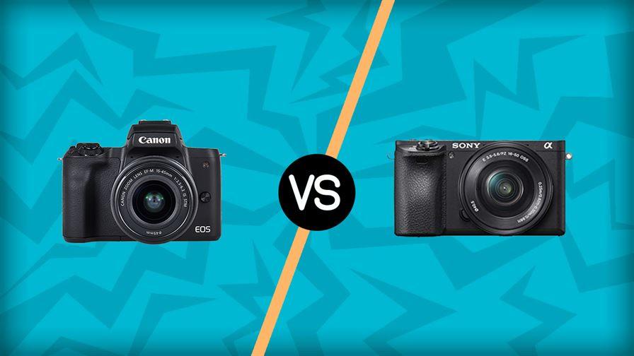 Canon M50 vs Sony A6500