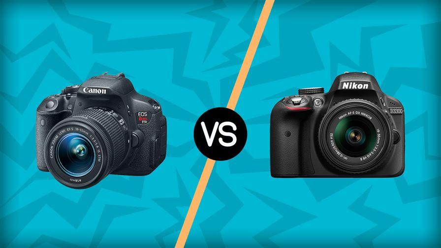 Canon SL1 vs Nikon D3300