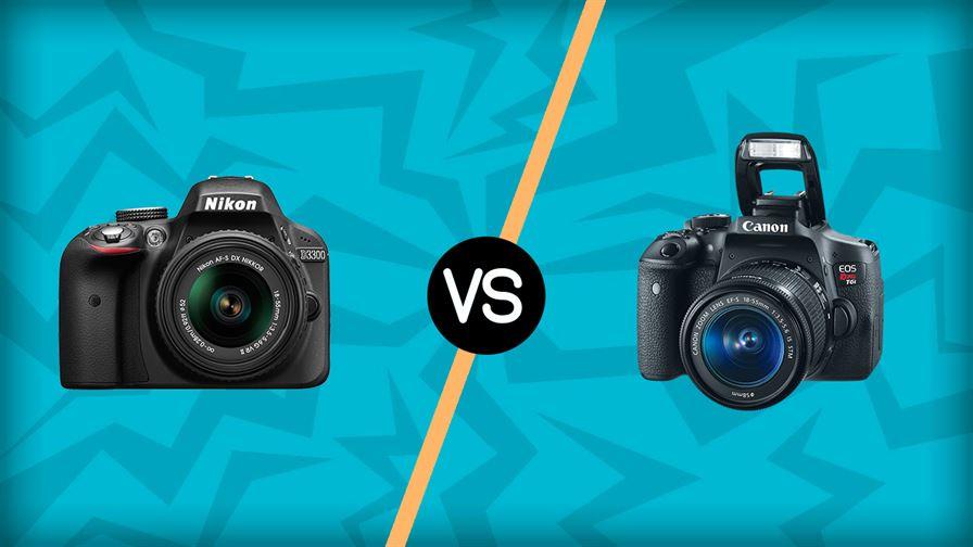 Nikon D3300 vs Canon T6I