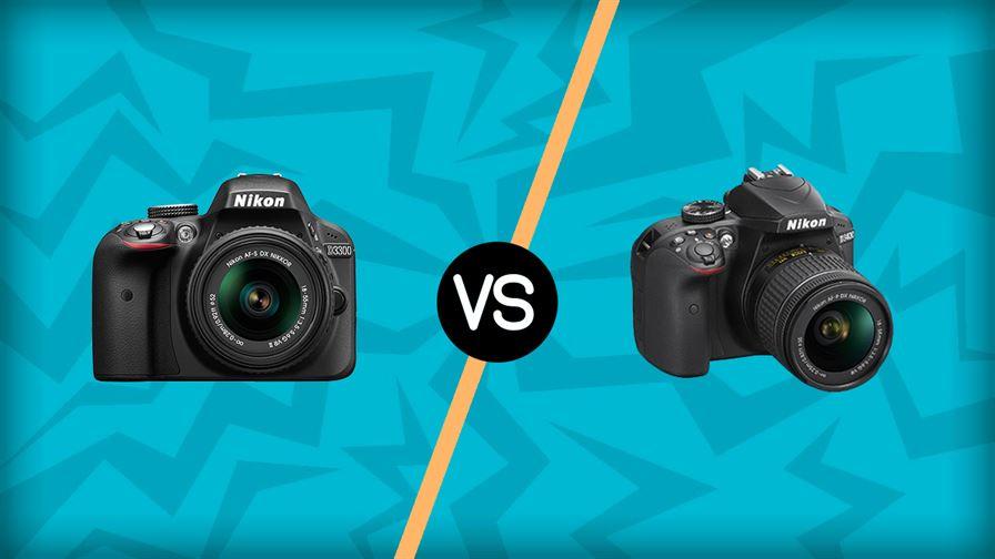Nikon D3300 vs Nikon D3400