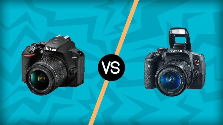 Canon t6 vs nikon d3500
