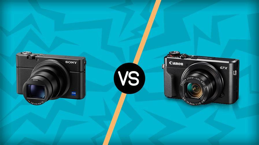 Sony RX100 vs Canon G7X