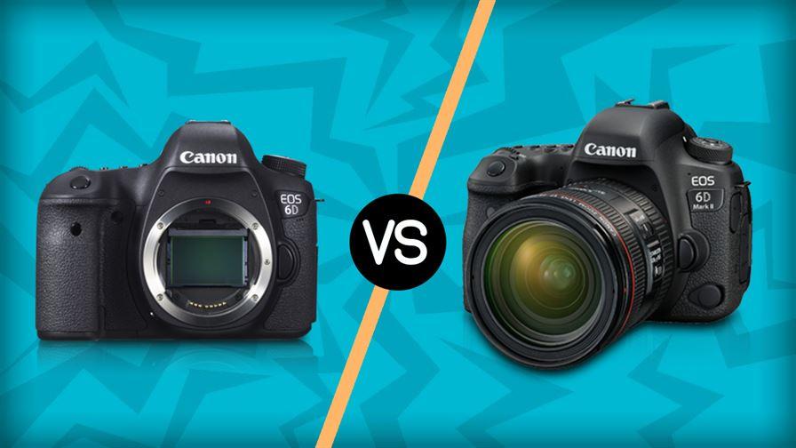 Canon 6D vs Canon 6D Mark II