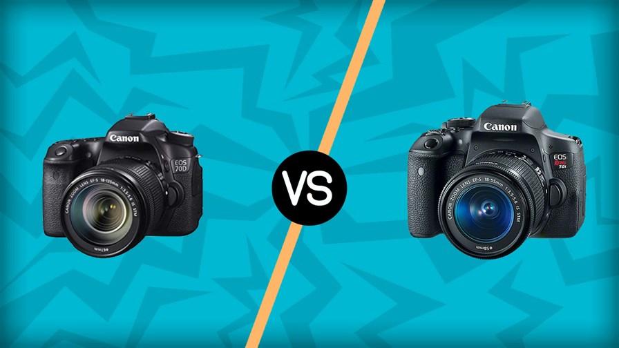Canon 70D vs Canon T6I
