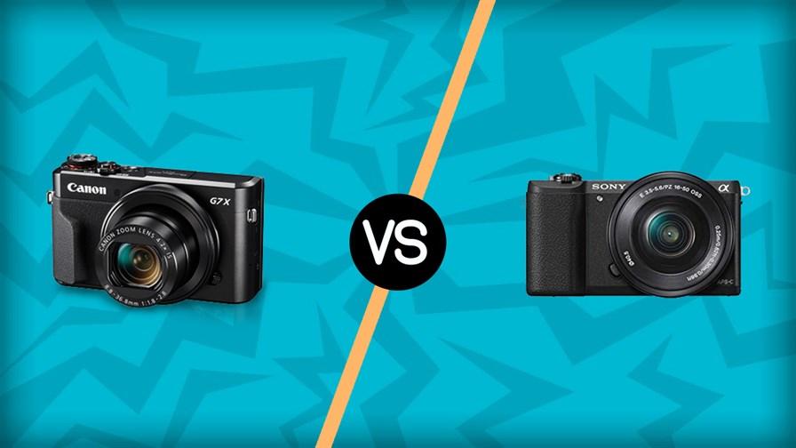 Canon G7 X vs Sony A5100