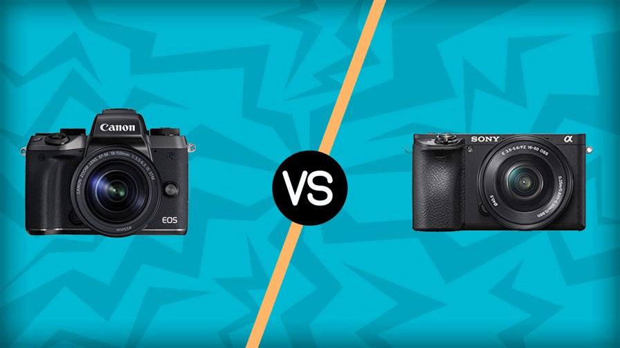 Canon M5 vs Sony A6500