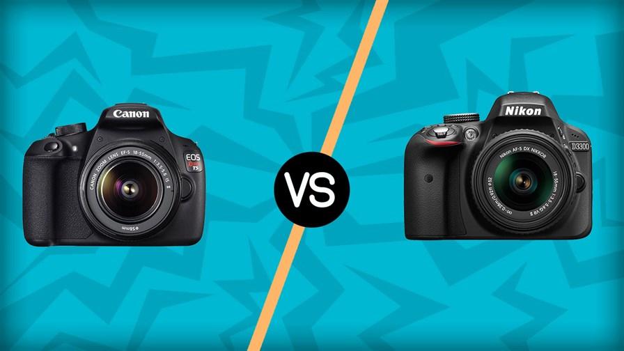 Canon T5 vs Nikon D3300