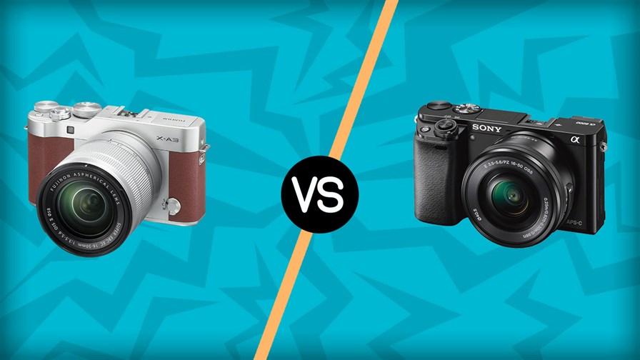 Fujifilm X-A3 vs Sony A6000