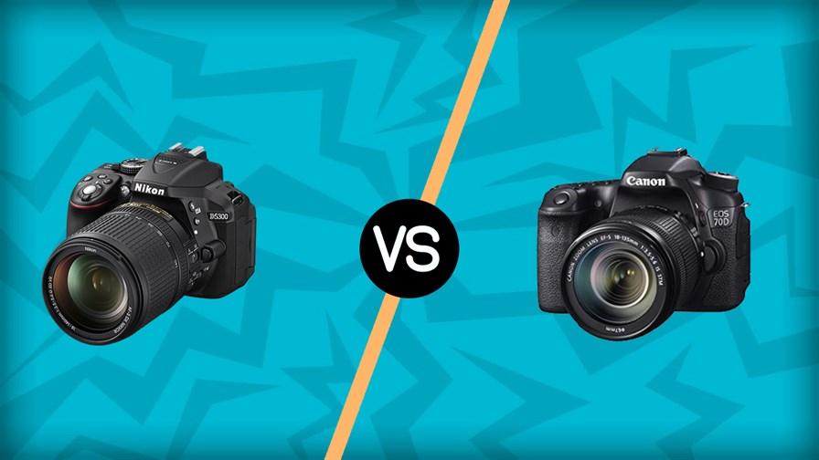 Nikon D5300 vs Canon 70D