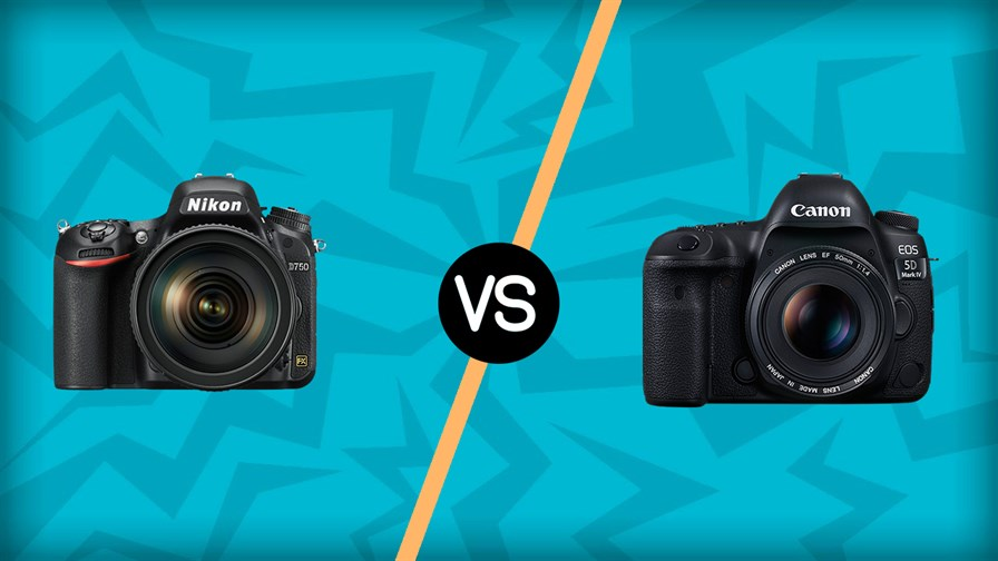 Nikon D750 vs Canon 5D Mark IV