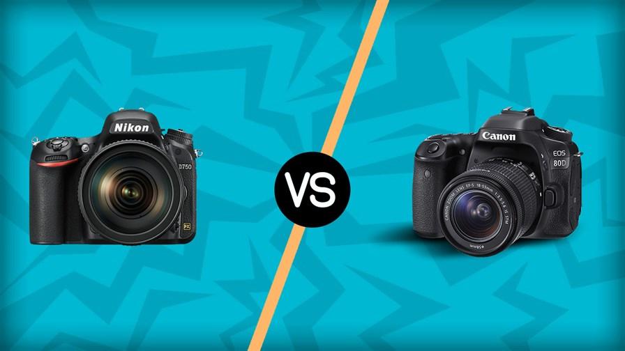 Nikon D750 vs Canon 80D