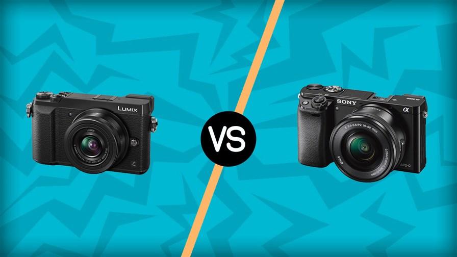 Panasonic Lumix GX85 vs Sony A6000