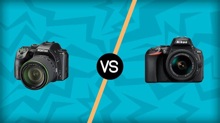 Pentax K 70 vs Nikon D5600