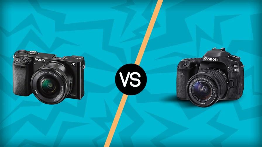 Sony A6000 vs Canon 80D