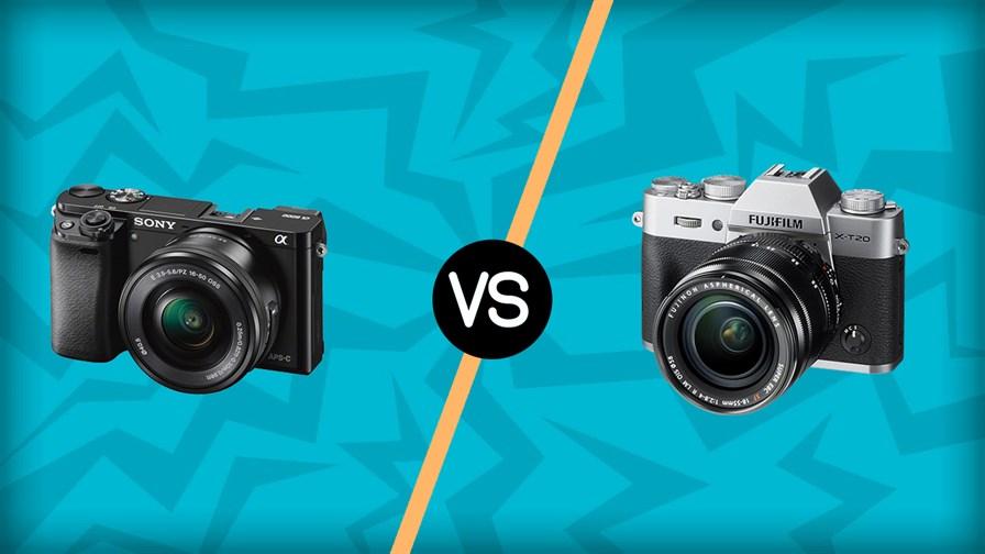 Sony A6000 vs Fujifilm X-T20