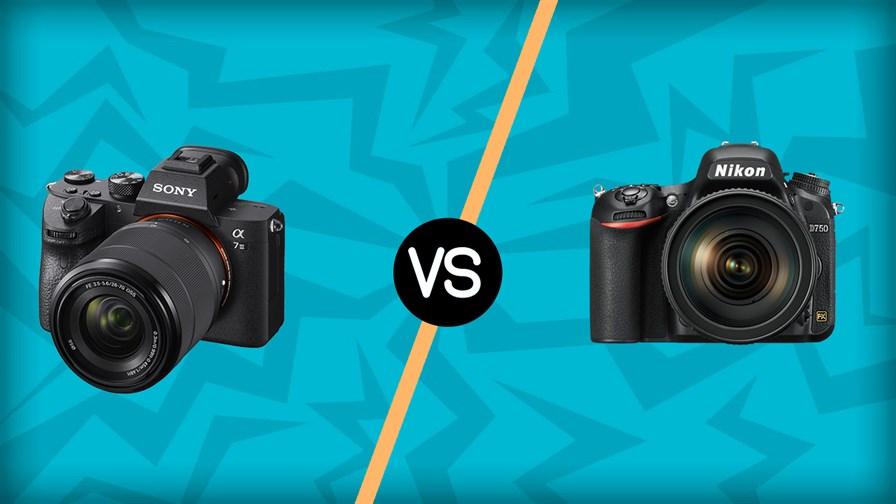 Sony A7 III vs Nikon D750