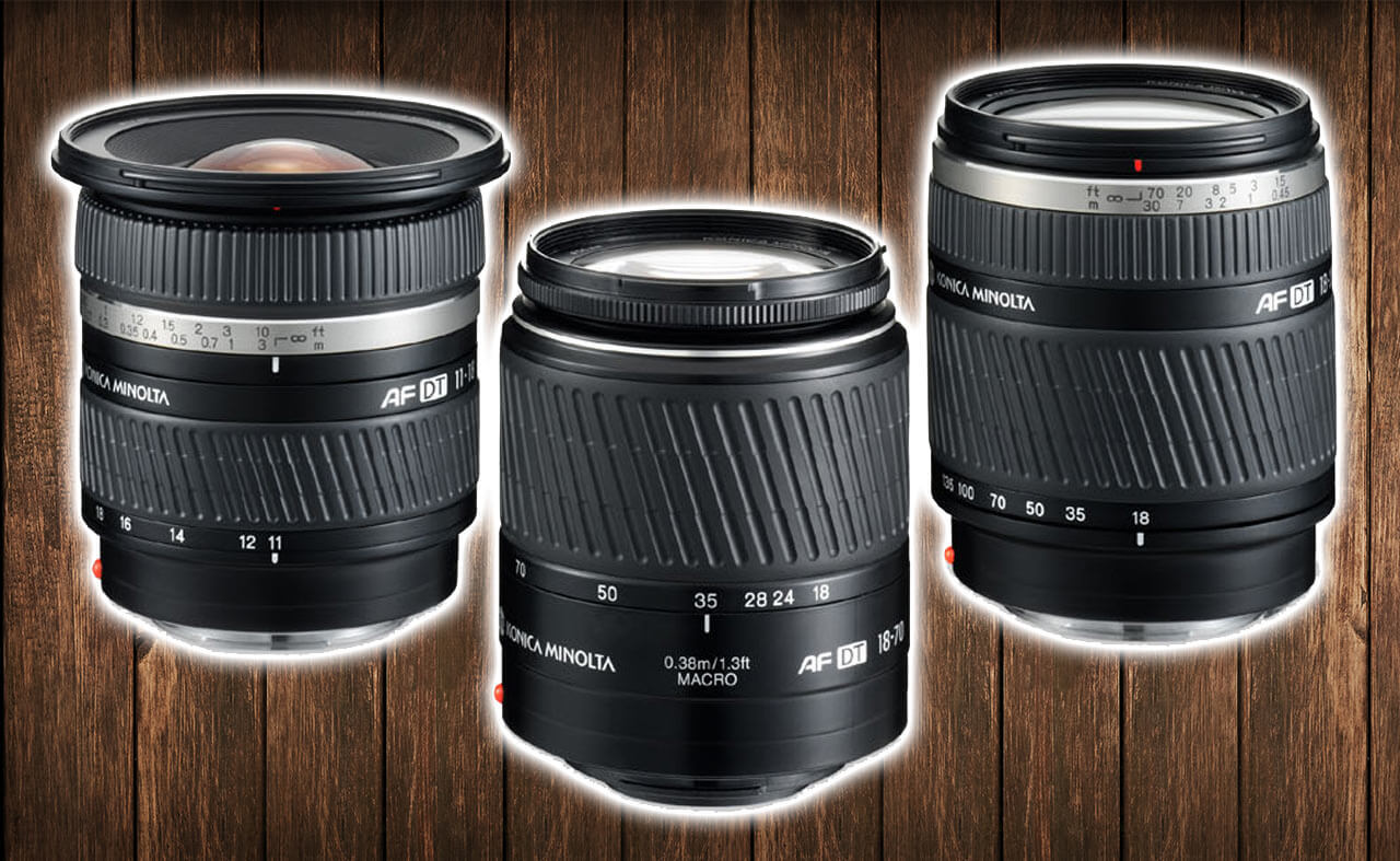 best minolta lenses