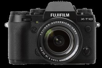 Fuji X-T10 png