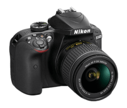 Nikon D3400 png