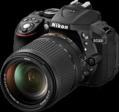 Nikon D5300 png